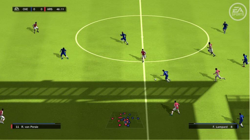 Ein Fußballspiel
