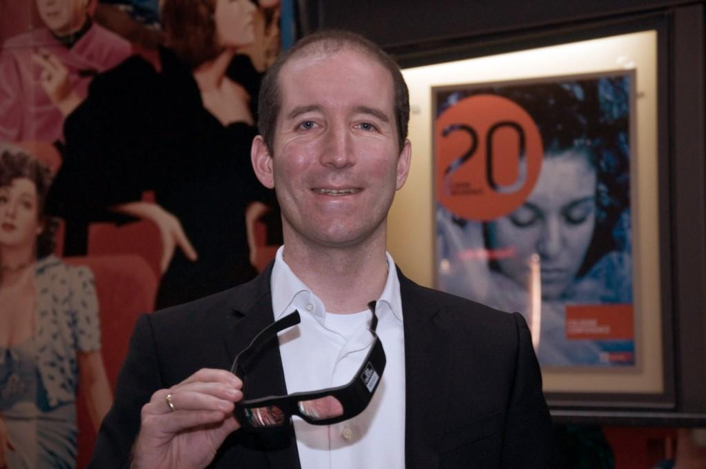"Dr. Olaf Coenen (EA) referierte auf der 20. Cologne Conference über das ""Virtual Playbook"" von EA Sports."