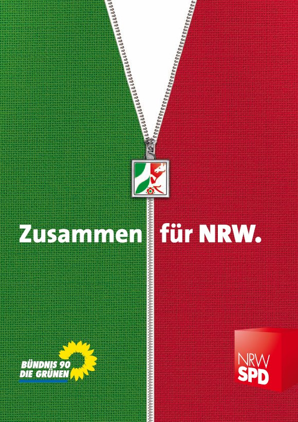 NRW-Koalitionsvertrag, Juli 2010 (Quelle: www.gruene-nrw.de)