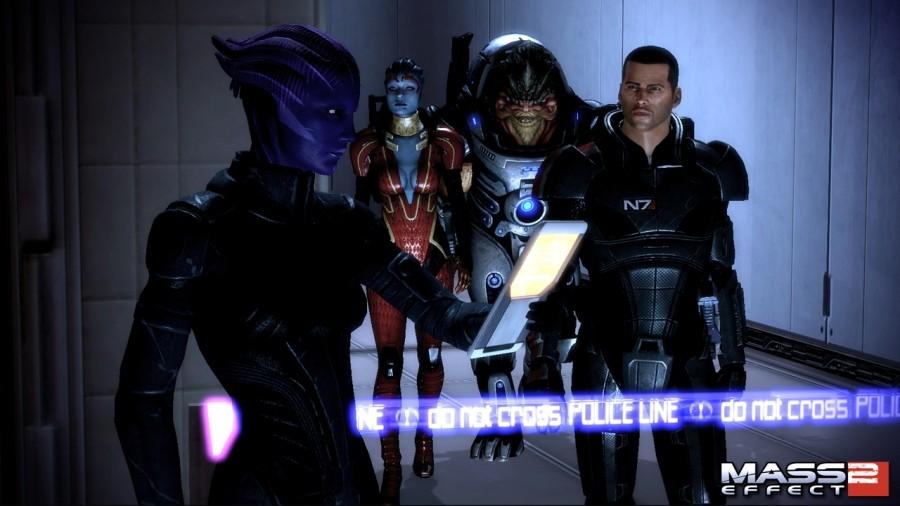 Beispiel für einen semi-subjektiven Point of View: Mass Effect 2 (Quelle: EA)