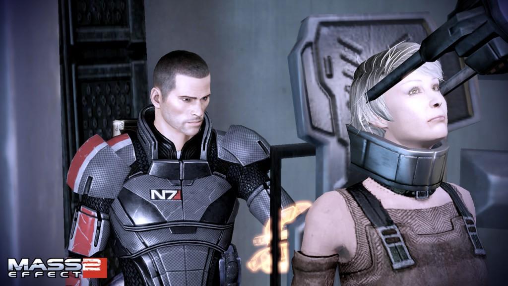 Parasoziale Interaktion und parasoziale Beziehungen gibt es auch in digitalen Spielen wie Mass Effect 2 (Quelle: EA)