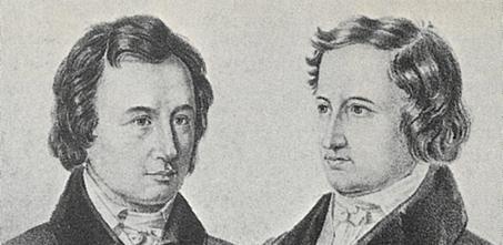 Jacob und Wilhelm Grimm: Sind nicht nur weltweit für ihre Märchen bekannt, sondern gelten auch als Gründungsväter der Germanistik.
