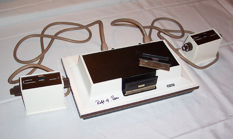 Foto der Konsole Magnavox Odyssey (Quelle: artin Goldberg /Electronic Entertainment Museum (E2M))