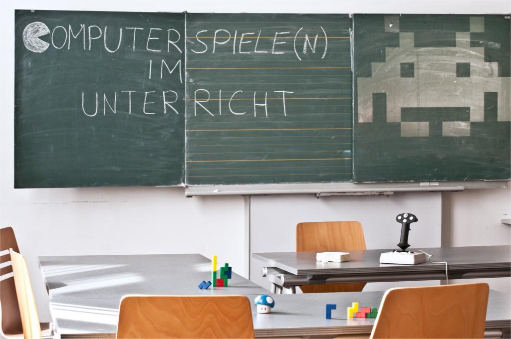 Das Institut Spielraum veranstaltet auch viele Aktionen in Schulen (Quelle: Jürgen Sleegers)