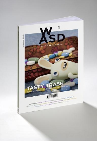 Die erste Ausgabe des WASD Magazins Quelle: http://wasd-magazin.de/