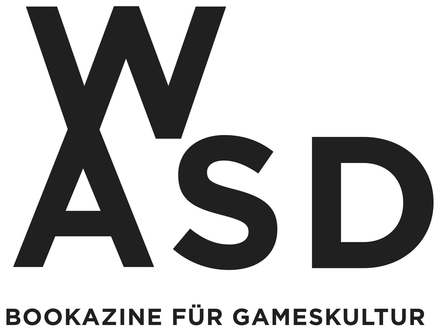 Das WASD Bookazine für Gameskultur wird von Christian Schiffer herausgegeben.