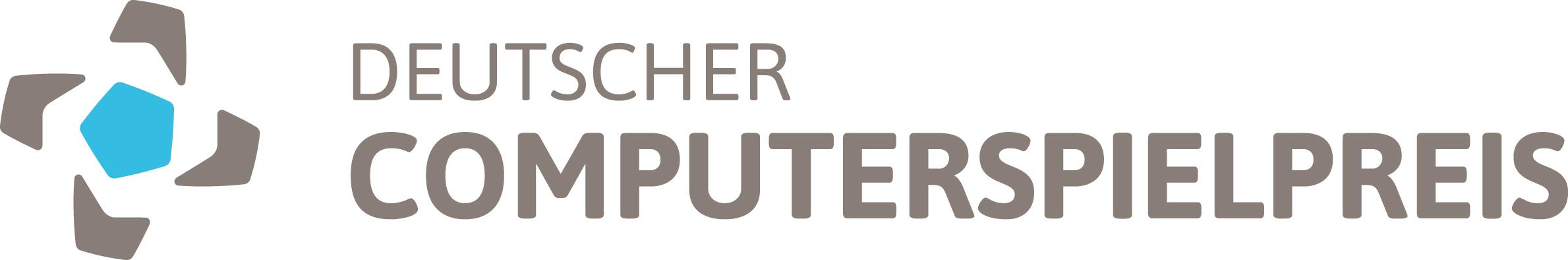 Das Logo des Deutschen Computerspielpreis DCP