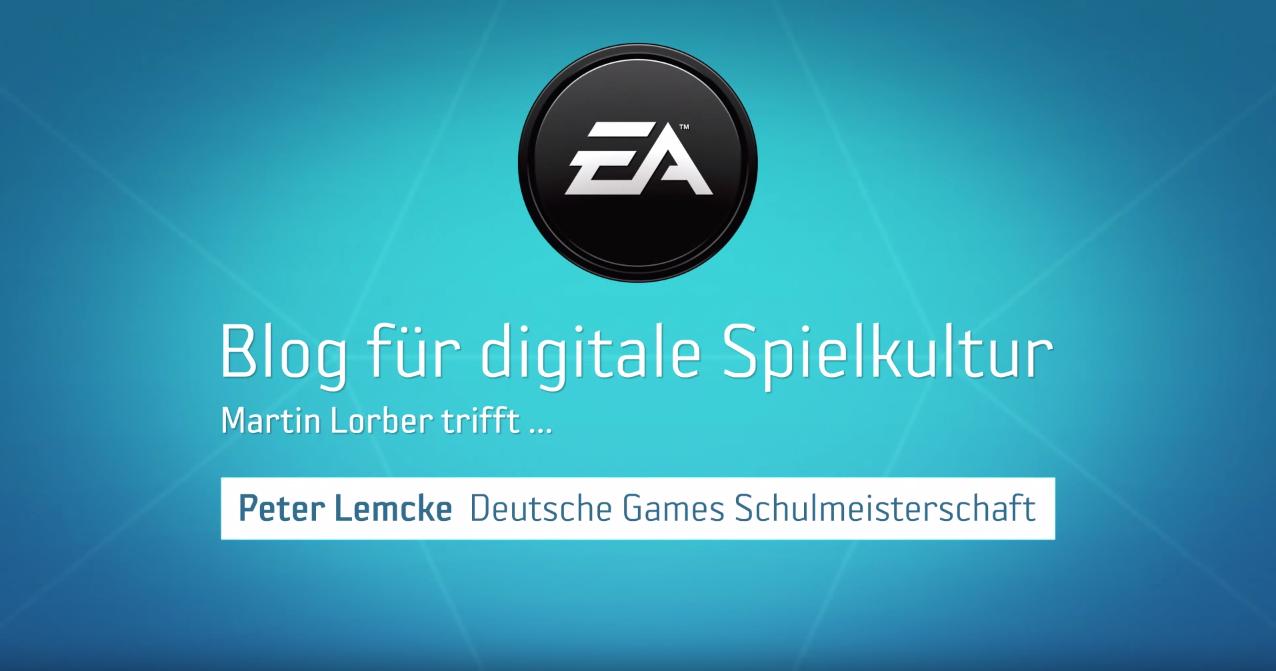 Interview mit Peter Lemcke von der Deutschen Games Schulmeisterschaft