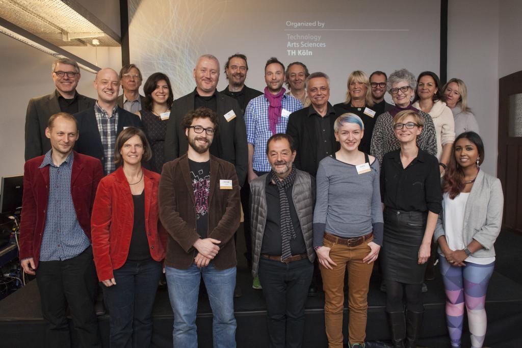 Sprecher, Partner und Organisatoren der Clash of Realities 2015 - © Michaela Patschurkowski / Clash of Realities
