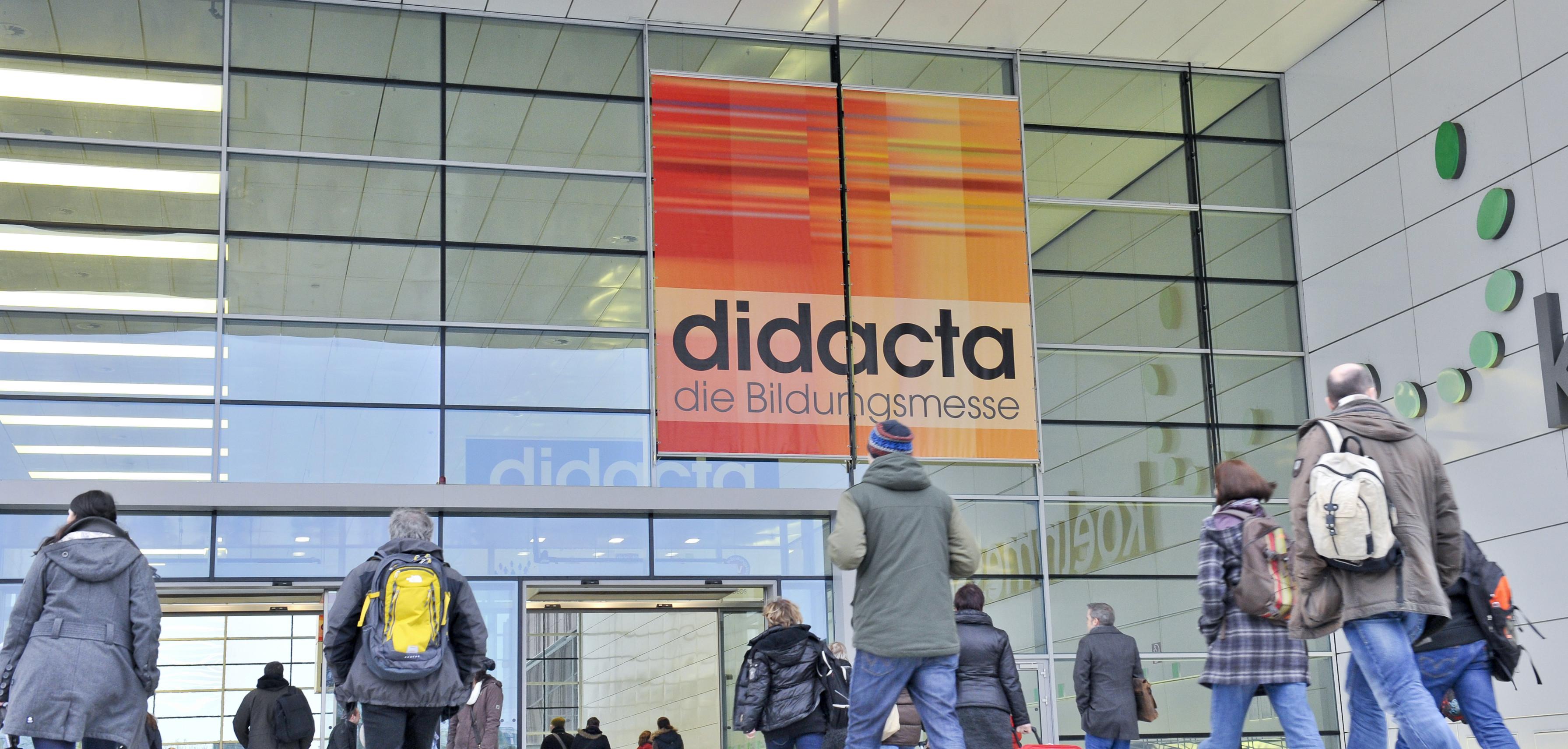 Eingang Süd didacta 2013