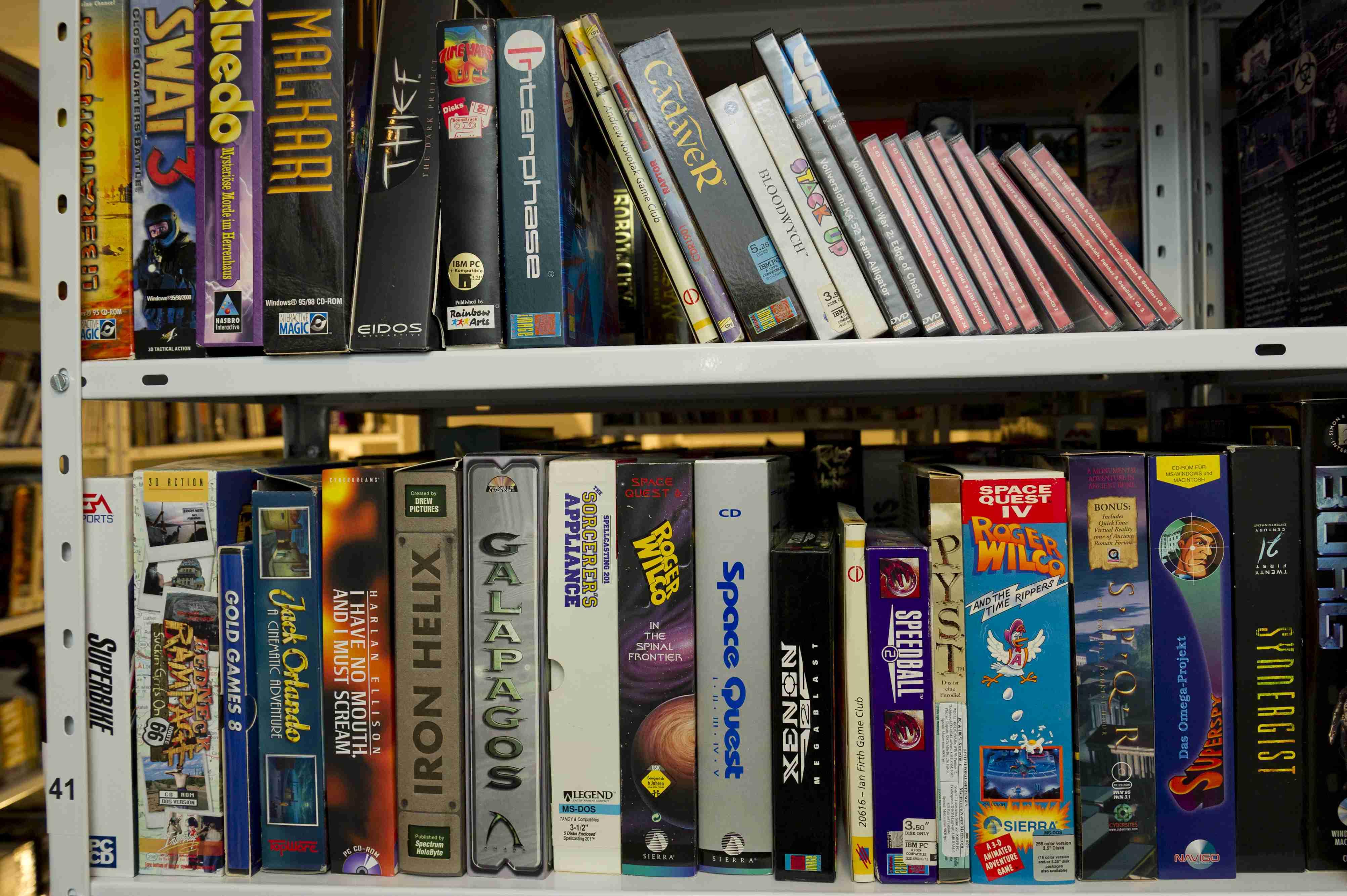 BU: Softwaresammlung des Computerspielemuseums Berlin